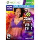 Brand New Sealed Xbox 360 Zumba Fitness World Party - Video Game