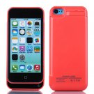 4200mAh iPhone 5 5s 5c Pink External Battery Backup Charging Power Bank Case