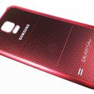 Genuine Samsung Galaxy S5 Sport Red Battery Back Cover Door Case
