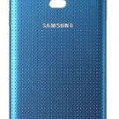Genuine Samsung Galaxy S5 Battery Back Door Samsung Logo - Blue