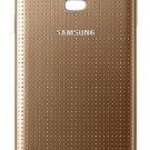 Genuine Original Samsung Galaxy S5 Samsung Logo Battery Back Door - Gold