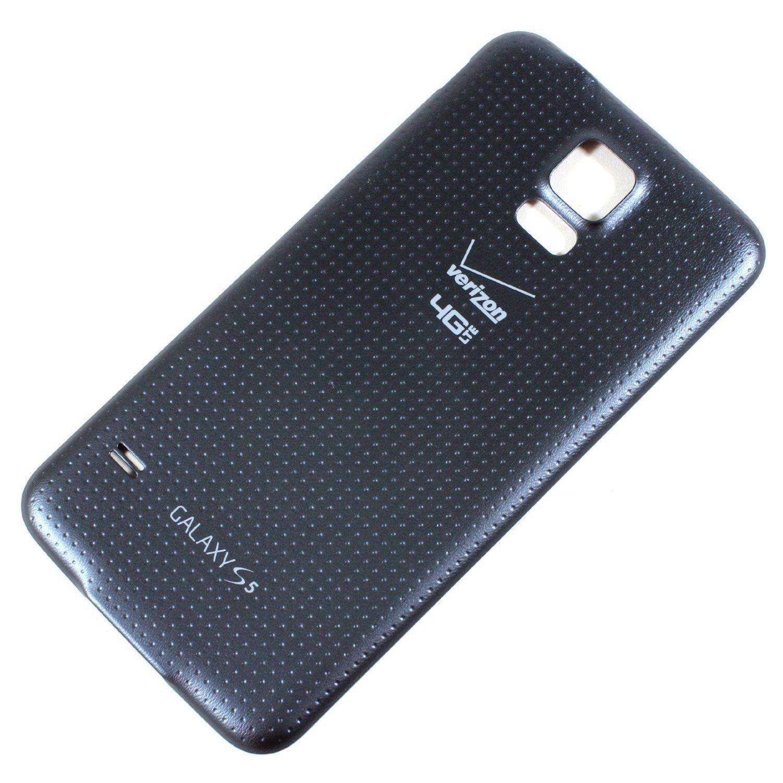 Genuine OEM Original Samsung Galaxy S5 Verizon Battery Back Door Cover Grey