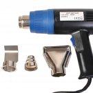 New HeatGun Pro 1500 Watt Dual Temperature Heat Gun w/ 4pcs Nozzle