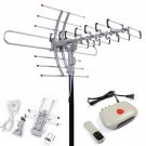 Digital Amplified Antenna HDTV 1080P Outdoor HD TV 150 Mile 360 Rotor UHF/VHF/FM