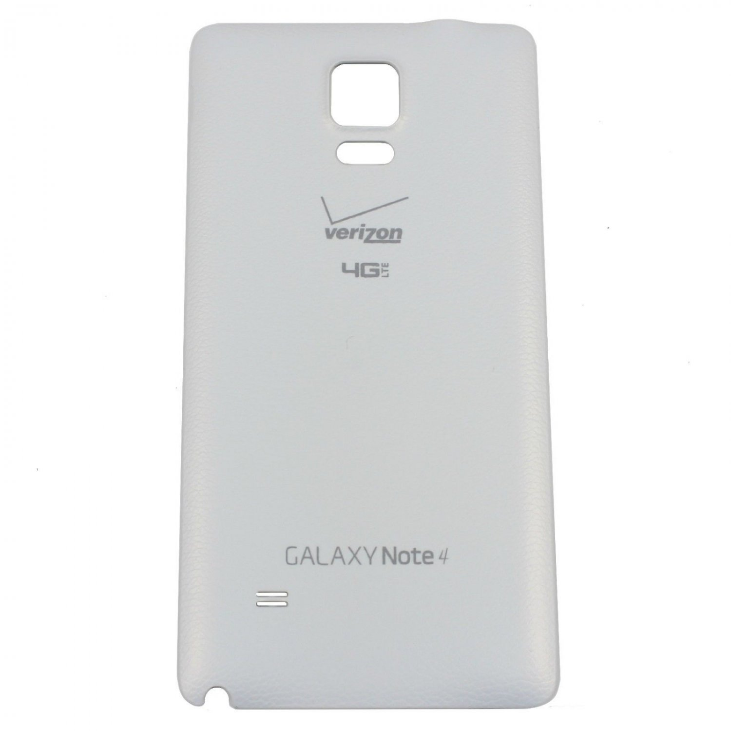 Genuine Original Samsung Galaxy Note 4 Verizon  Battery Back Door - White