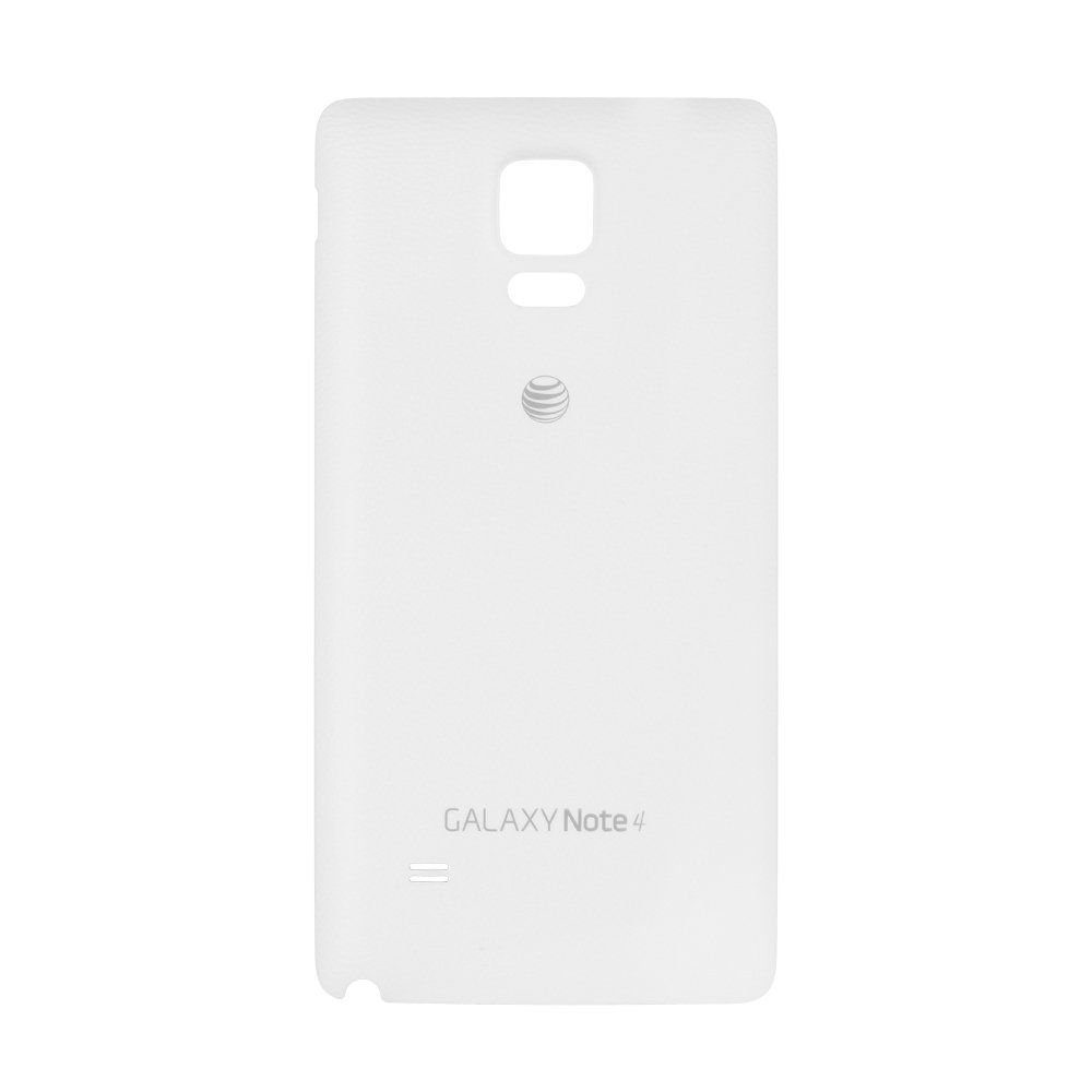 Genuine Samsung Galaxy Note 4 Battery Back Door AT&T - White