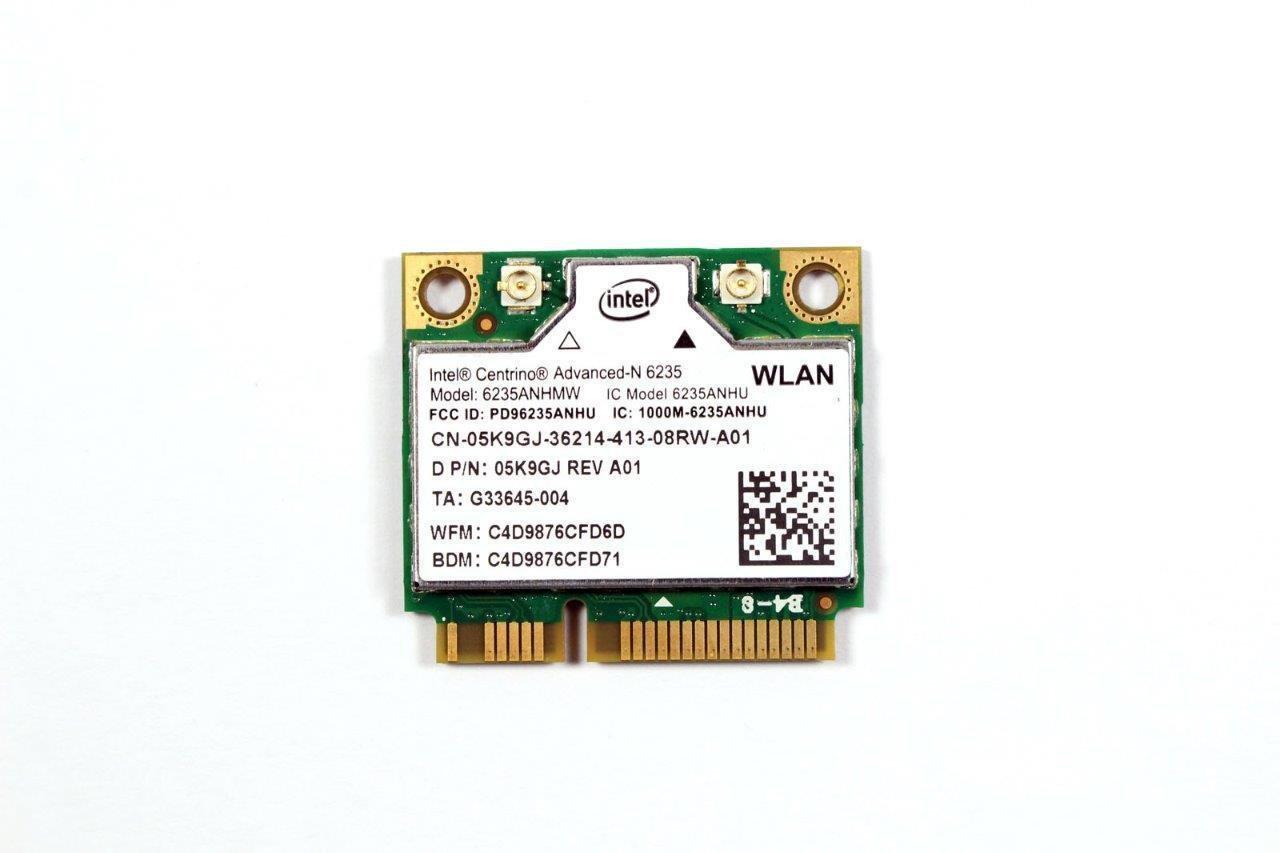 Genuine OEM Dell XPS 6235 PCI-E WLAN Wireless Bluetooth WiFi Card 5K9GJ