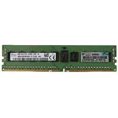 Genuine HP 8GB PC4-2133P-R CL15 1.20V DDR4 RAM Memory Kit 726718-B21