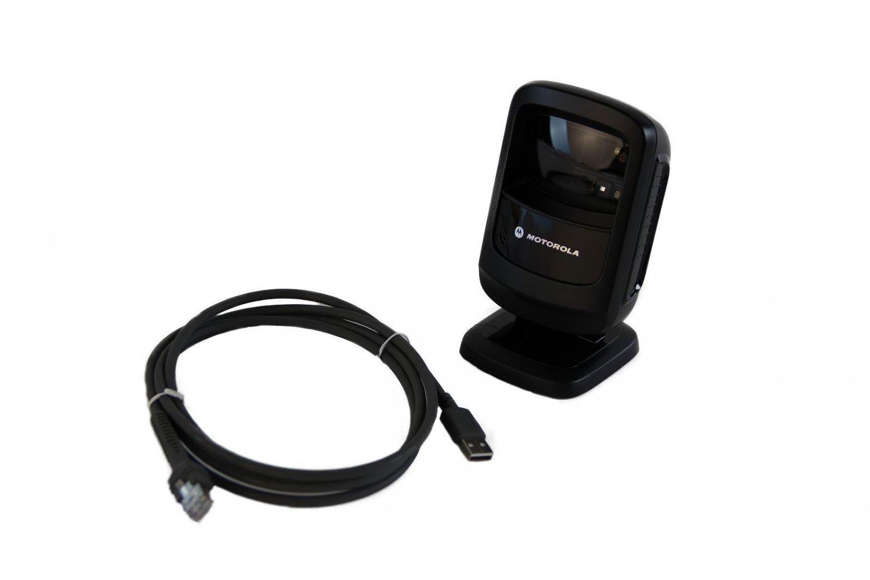 New Motorola Zebra Symbol Ds9208 Usb Barcode Imager Scanner Ds9208