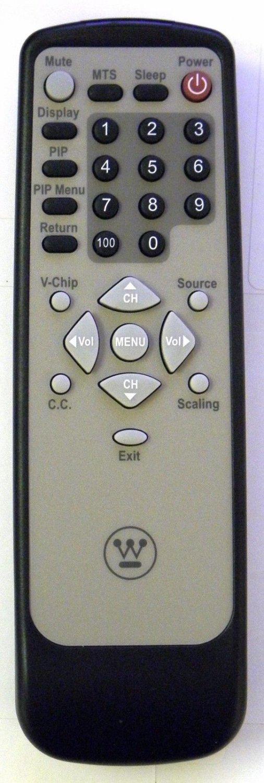 New Original Westinghouse 27-D001444 TV Remote Control