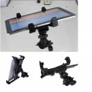 Tablet Holder Adapter Mount Music Clamp Stand Microphone for iPad Series Black