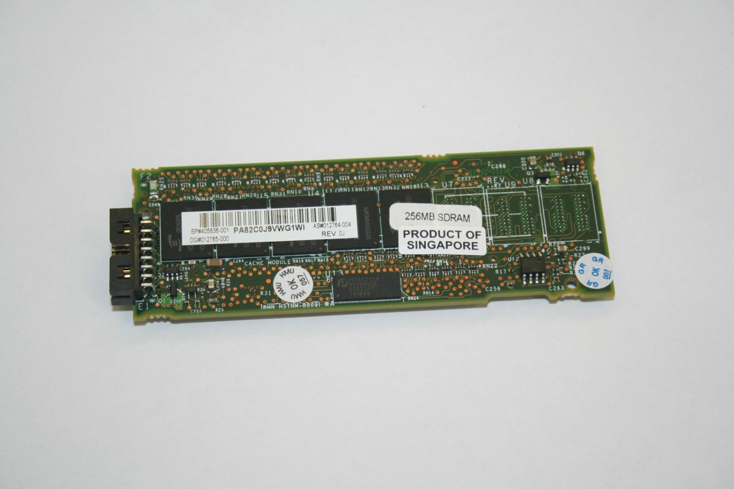 HP Compaq Smart Array P-Series P400 256MB Cache Memory Upgrade P/N: 405139-B21