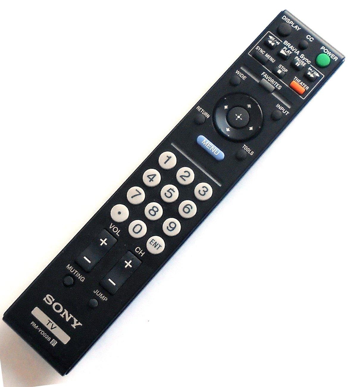 New Replaced RM-YD028 Remote for Sony Bravia KDL-52S5100 KDL32L5000 KDL-52VL150