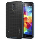 Spigen GALAXY S5 Case [[ NEO HYBRID ]] Color Series - Slim Grip Design in Metal Slate