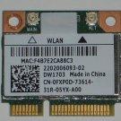 OEM Dell DW1703 FXP0D Wireless & Bluetooth 4.0 Mini PCI-E AR5B225 Combo
