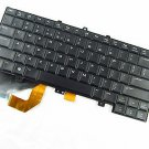 Original New Dell Alienware 14 M14 R3 M14x-R3 9KF83 US Backlit keyboard