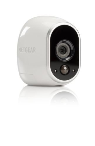 Arlo VMS3130 Indoor Outdoor Night Vision Security System with 1 Wire Free HD