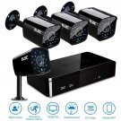 ELEC 8CH 960H DVR 8-Channel 1200TVL Home CCTV Surveillance Security Cameras