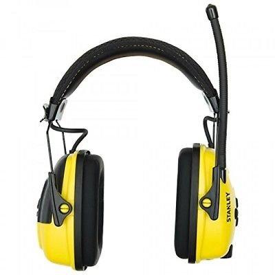Stanley Sync Digital AM/FM/MP3 Radio Earmuff RST 63012 New