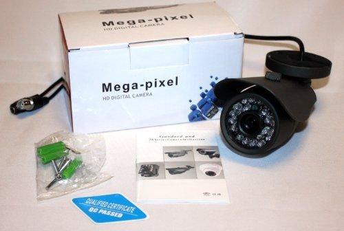 USG 900TVL Bullet Security Camera 100ft Nighttime IR LEDs  Weatherproof