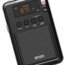 Eton Mini Compact AM FM Shortwave Radio Black (NGWMINIB)