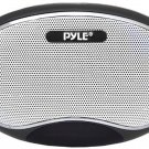 Pyle Home PSPFM1B Portable MP3 Speaker with Rechargeable Battery LED Display ...