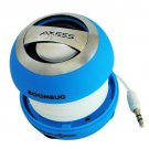Axess SPLW11-7 Boombug Wired Mini Portable Speaker with Rechargeable Battery