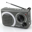 Anncia New Portable FM/AM radio Speaker with Micro TF card and USB flash driver