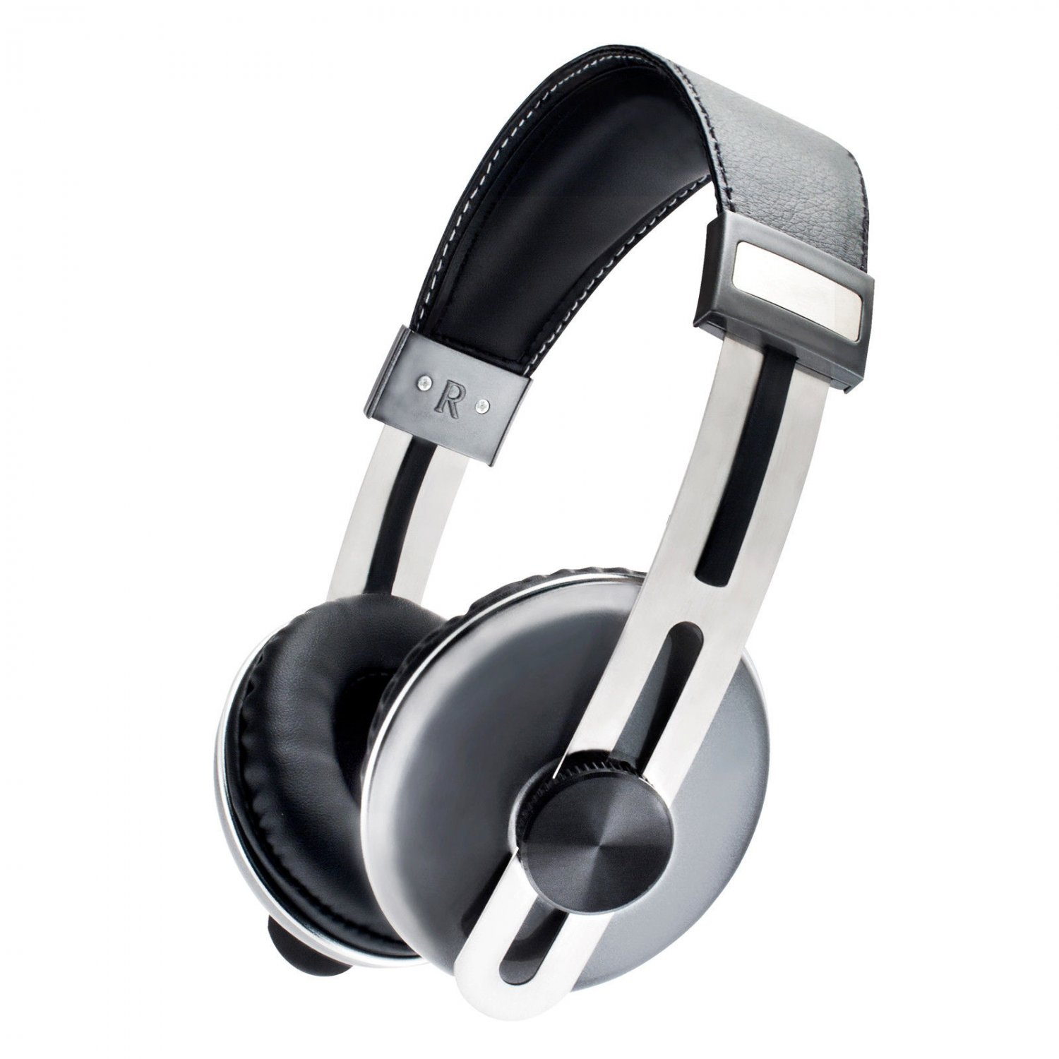 Sentry HM600 Pulse Pro Series Stereo Headphones with MIC (Black with Silver)