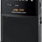 Sangean SR-35 AM/FM Analog Pocket Radio New