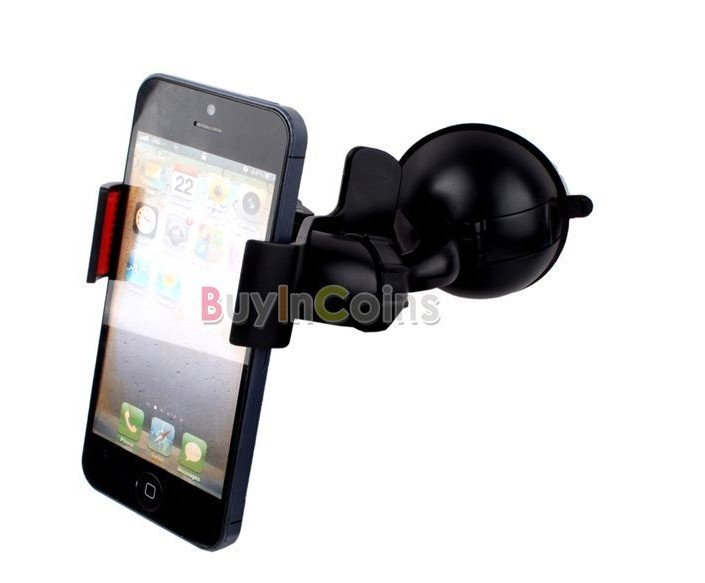 New Universal 360 Degree Car Mount Holder Bracket for Samsung for iPhone 4 4S #22960