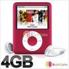 4GB 4 GB 1.8'' LCD MP4 FM 3RD Gen Media Player #2066