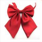 Women's butterfly bowtie knots Dark Red