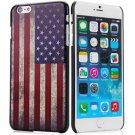 Stylish Stars and Stripes Pattern Style Plastic Protective Case Cover for iPhone 6 Plus - 5.5 inches
