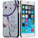 Stylish Net Pattern Style Plastic Protective Case Cover for iPhone 6 Plus - 5.5 inches