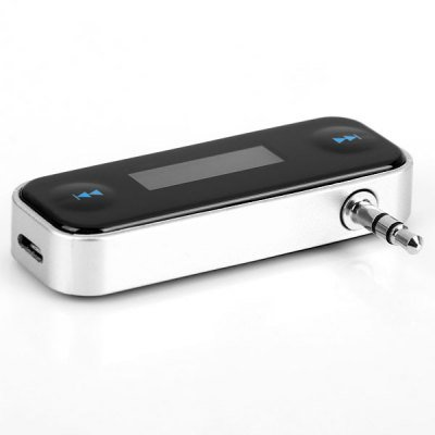 FM Transmitter and In-car Handsfree for iPhone 4 / 4S / 5 / 5S / 5C / 6 , iPod , iPad , MP3 Players