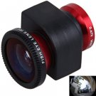 3-in-1 Wide Angle Lens Fisheye Lens Macro Lens Set for iPhone 5