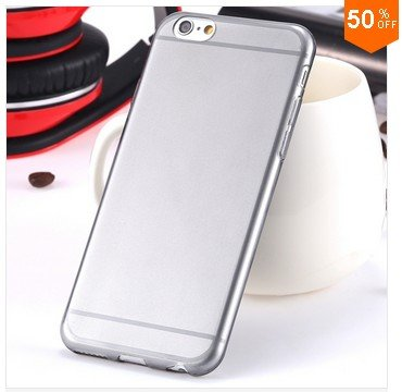 0.3mm Ultra Thin Clear Case For Iphone 6 4.7inch (Color nr 1)