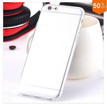 0.3mm Ultra Thin Clear Case For Iphone 6 4.7inch (Color nr 5)