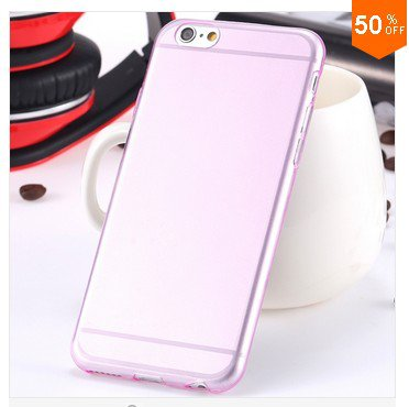 0.3mm Ultra Thin Clear Case For Iphone 6 4.7inch (Color nr 6)