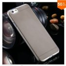 Flip Open Full Clear Case For Iphone 6  4.7inch Soft Transparent TPU Silicon (COLOR1)