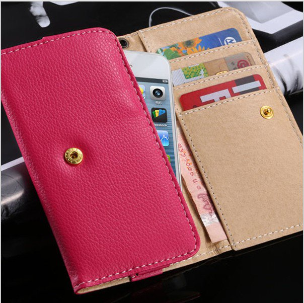 General Style PU Leather Case for iphone 6 4.7'' Cover Comprehensive Wallet