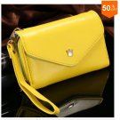 Pouch Wallet PU Leather Case for iphone 5 5S 5C 4 4s, for Samsung Galaxy S3 S4 S5  ( color 7