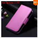 Photo Frame Flip PU Leather Cover Case For Iphone 5 5S  ( COLOR 2