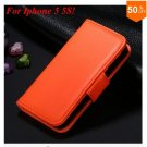 Photo Frame Flip PU Leather Cover Case For Iphone 5 5S  ( COLOR 6