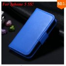 Photo Frame Flip PU Leather Cover Case For Iphone 5 5S  ( COLOR 9