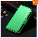 Photo Frame Flip PU Leather Cover Case For Iphone 5 5S  ( COLOR 10