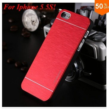 Deluxe  Metal Brush Cover for iphone 5 5s 5g  Aluminum Hard Back  (COLOR 3