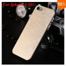 Deluxe  Metal Brush Cover for iphone 5 5s 5g  Aluminum Hard Back  (COLOR 4