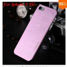 Deluxe  Metal Brush Cover for iphone 5 5s 5g  Aluminum Hard Back  (COLOR 6